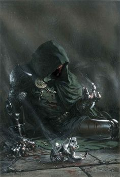 Dr Doom _ by Gabriele Dell'Otto
