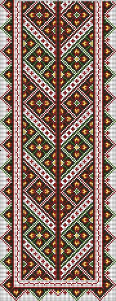 Ukrainian Embroidery for Front of Men's Shirt