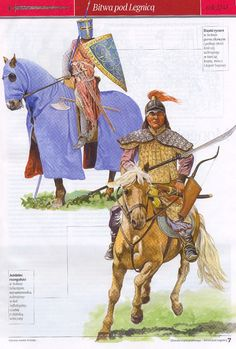 Silesian Knight and Mongol Warrior, c. 1241 AD