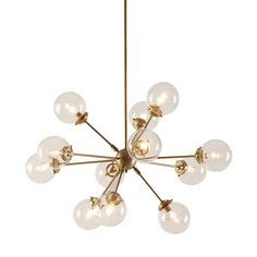 """Olliix Ink+Ivy Paige Chandelier II150-0008 - Olliix Ink+Ivy Paige Chandelier II150-0008Glass Globes, Artfully Arranged, Will Dress Up Your Loft Or Living RoomSKU: II150-0008Manufacturer: OlliixCategory: Table Task LampBrands: INK+IVYPattern: PaigeDivision: LightingPattern Type: AbstractMaterial: MetalColor: Antique BrassCountry Of Origin: ChinaMaterial Descrioption: MetalUPC Code: 675716798307Care Instructions: Spot Clean OnlySet Includes: 1 Chandelier Set Dimensions: 39.5X39.5X59.5H"""""""