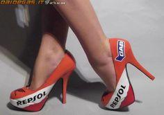 Repsol Honda high heels