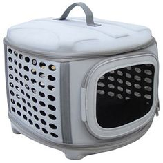 Circular Shelled Perforate Lightweight Collapsible Military Grade Transporter Pet Carrier | Overstock.com Shopping - The Best Deals on Cat Carriers