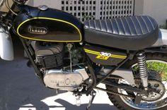 Vintage Yamaha MX 360 restored by  Barracuda Racing