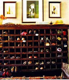 Handy ways to store your shoes!