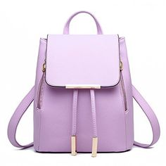 New Trending Backpacks: Z-joyee Casual Purse Fashion School Leather Backpack Shoulder Bag Mini Backpack for Women Girls,Light purple. Z-joyee Casual Purse Fashion School Leather Backpack Shoulder Bag Mini Backpack for Women Girls,Light purple Special Offer: $24.99 299 Reviews Brand: Z-joyee Material: PU leatherBackpack Dimension: 24*30*16cm/9.45*11.8*6.3in (W*H*D)Function: BackpackInterior: 1 x main pocket,...