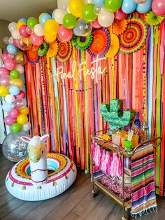 Final Fiesta Decorating package offered exclusviely by Scottsdale Bachelorette 2nd Birthday Party Themes, Fiesta Theme Party, Mexican Party Decorations, Bachelorette Party Decorations, Mexican Birthday, Bridal Shower, Baby Shower, Tequila, Balloons