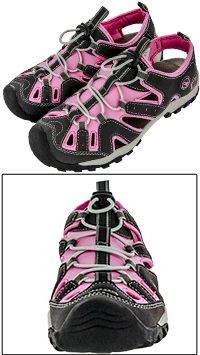 20% OFF SALE ON THE ENTIRE PINK RIBBON COLLECTION! Every Purchase Funds Mammograms for Women in Need. Pink Ribbon Sporty Sandals. $27.96