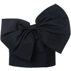 Lyst - Bambah Slanted Bow Bustier in Black Curvy Women Fashion, Fashion Tips For Women, Diy Fashion, Ideias Fashion, Fashion Dresses, Womens Fashion, Fashion Design, Fashion Trends, Steampunk Fashion
