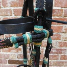 Montana Prison Made Hitched Western Bridle Horse Hair Headstall Tack Wreins   eBay