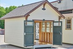 Built like a tank, but dressed like a queen, this attractive craftsman shed feels most at home in upscale neighborhoods. This nice shed has residential Hardie® style siding and traditional craftsman architectural cues, so the Jones will have some serious catch up work. With an enormous list of standard features, the Elite Craftsman defines the luxury shed experience.