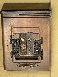 Steampunk Mailbox #mailbox
