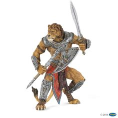 Figurine Lion mutant - Figurines FANTASY WORLD