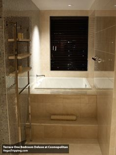 Master Bath Ideas. Japanese-style soaking tub in a wet room