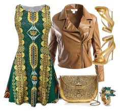 Bez tytułu #287 by glirendree on Polyvore featuring moda, WithChic, Sans Souci, Imagine by Vince Camuto and From St Xavier