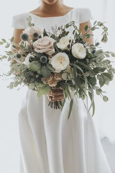 Bridal Bouquet | Jacq & Lucas Wedding | De La Terre Botanical Stylists