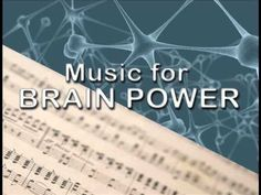 i like this one the best so far... classical music is best for brain power and concentration.