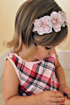 So Sweet Hydrangea Flower Headband  Baby by OhhSoSweetBowtique, $13.00