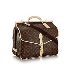 Hunting Bag Monogram Canvas - Travel | LOUIS VUITTON