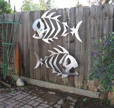 Metal Yard Sculptures | Metal Outdoor Fish Sculptures | Flickr - Photo Sharing!