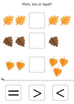 Educational game for kids Premium Vector Fall Preschool Activities, Math Games For Kids, Kindergarten Math Worksheets, Toddler Learning Activities, Preschool Art, Worksheets For Kids, Maths Halloween, Spooky Halloween, Cute Powerpoint Templates