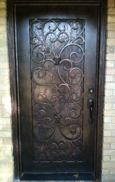 San Miguel Ironworks - Entry Doors | Texas