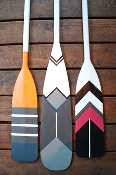 My Sweet Savannah: ~thrifty thursday~{painted canoe paddles}- so cute for a boys room- could do baseballs maybe?