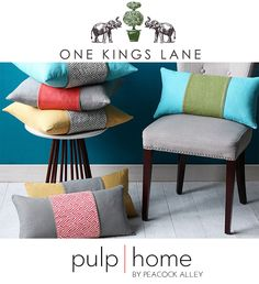 Shop our NEW Pulp Home Collection on One Kings Lane!