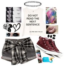 I have a really big smile today by clumsycinderella2992 on Polyvore featuring polyvore fashion style Converse Bling Jewelry Dorothy Perkins Levi's