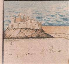 El castillo de Benidorm fue durante siglos un importante elemento de la defensa del litoral valenciano y una de las claves de la existencia de la ciudad. En esta secuencia de fotos verás el antes y después de nuestra preciosa placa del castell Benidorm #Antiguedad #HotelCarlosI