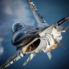 ross_impress The amazing paint of the Belgian 🇧🇪Dark Falcon. 📷 by 👊🏻 Grateful to be photographer for the Belgian Air… Airplane Fighter, Fighter Aircraft, Military Jets, Military Aircraft, Air Fighter, Fighter Jets, Photo Avion, Reactor, F 16 Falcon