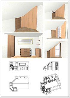 Minimalist House · House Design · Dachzimmer Möbel