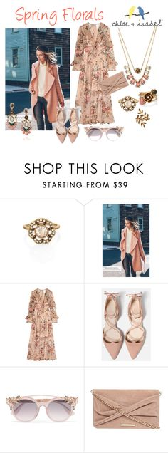 """""""Spring florals"""" by christina-coto on Polyvore featuring Chloe + Isabel, Zimmermann, Jimmy Choo and Dorothy Perkins"""