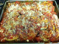 Mimi Marie: Tomato-Baked Eggplant