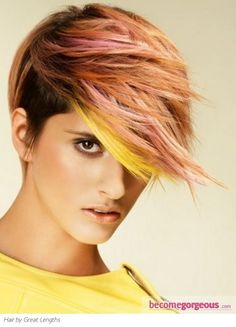 Voguish Colorful Hair Highlights http://www.gallery.becomegorgeous.com/hair_highlights_ideas/voguish_colorful_hair_highlights-5627.html