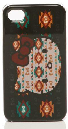 Hello Kitty Navajo iPhone 4G Case $30
