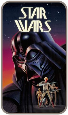 Classic Ralph McQuarrie art used as the original Star Wars novelization cover.