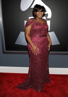 Kelly Price at the Grammy's