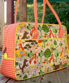 Diaper Bag Tutorial & Pattern Roundup - Andrea's Notebook