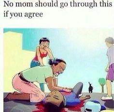 No mom should go through this