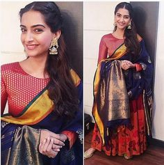 PRDP promotions: Sonam Kapoor looks ethereal in this traditional look | PINKVILLA