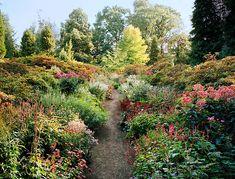 A garden designed by Piet Oudolf in the Belgian home of Dries Van Noten