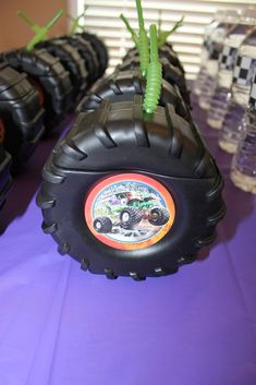 It's Fun 4 Me!: Monster Truck 5th Birthday Party