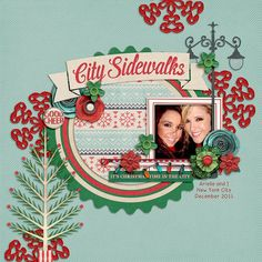 Digital Scrapbook Kit - City Sidewalks | ForeverJoy Designs