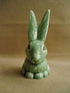 Green Sylvac Bunny