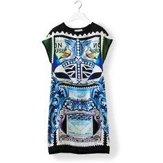 MARY KATRANTZOU Knipi Dress ($740) ❤ liked on Polyvore