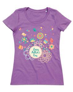 T-shirt personalizzate donna cotone organico festa della mamma fantasia-07