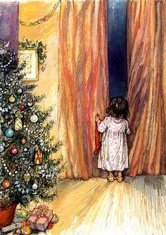 waiting for Santa ...