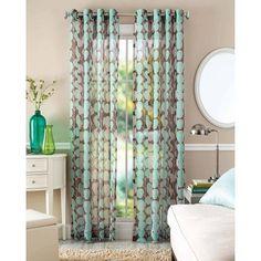Better Homes and Garden Vine Leaf Curtain Panel #BetterHomesGardens