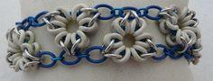 bracciale chainmaill elastico di ChiaraHandmade su Etsy,