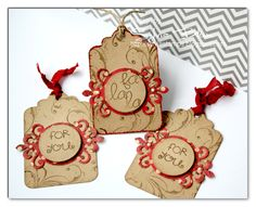 Quick and Easy Gift Tags by ~Fee~ - Cards and Paper Crafts at Splitcoaststampers